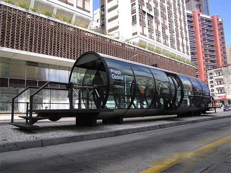 Креативные автобусные остановки