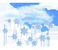 хмарно, сніг
