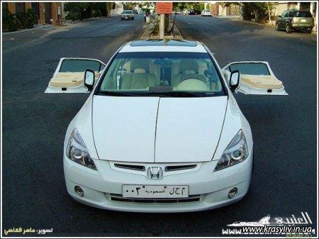 Сумасшедший тюнинг Honda Accord