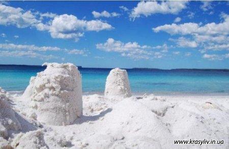 Уникальные пляжи