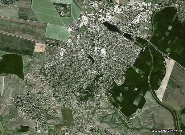 GOOGLE maps - КРАСИЛІВ (нова карта)