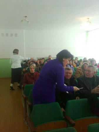 В районі проходить обговорення законопроекту реформування пенсійної системи